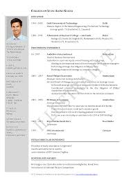 programmer cv template example resume experience and formats it