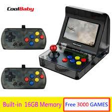 Portable Retro <b>Mini Handheld Game</b> Console 4.3 Inch 64bit 3000 ...
