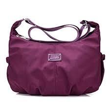 Tibes <b>Women Waterproof Nylon</b> Crossbody Messenger Bag <b>Travel</b> ...