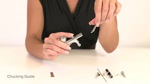 How To Assemble <b>SP</b>-35 Airbrush Gun | <b>TEMPTU PRO</b> - YouTube