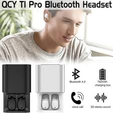 Qcy QCY T1 pro <b>TWS business earbuds Bluetooth</b> earphones ...