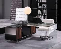 beautiful home office furniture desks glamour modern office desk 02 beautiful modern office desk