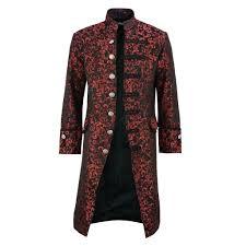 Plus Size <b>S 5XL Winter</b> Trench Coat <b>Men</b> Gothic Steampunk Vintage ...