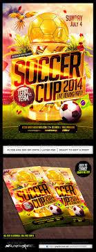 best soccer world cup psd flyer templates 2014 football flyer
