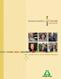 2007 business leaders of color by chicago united issuu