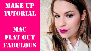 TUTORIAL con el <b>MAC Flat Out</b> Fabulous - Makeup Tutorial - Jime ...