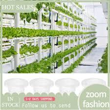 Planting <b>10pcs</b>/<b>Set</b> Breathable Hydroponic for Garden <b>Cup</b> Plastic ...