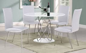 black and white dining table set:  dining table round kitchen table sets for   white round dining table with chairs