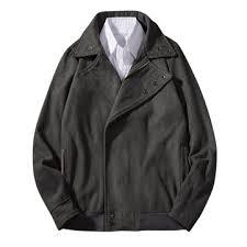 <b>mens</b> fall <b>winter woolen coat</b> solid color fashionable <b>jacket</b> at ...