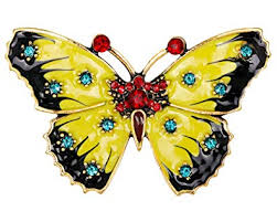 fashion butterfly brooches for women perfect zircon crystal pins bag scarf accessories luxury jewelry christmas gift