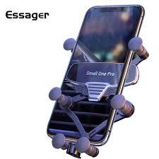 <b>Essager</b> Gravity <b>Folding</b> Car Phone <b>Holder</b> For iPhone Xiaomi mi ...