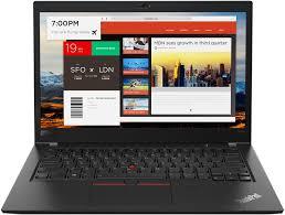 <b>Ноутбук Lenovo ThinkPad T480s</b> 20L7001MRT (черный)