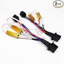 O-NEX LED Resistor Kit H13 (9008) HID Relay ... - Amazon.com