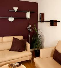 Modern Paint Colors For Living Rooms Maroon Wall Modern Living Room Living Room Decor Pinterest