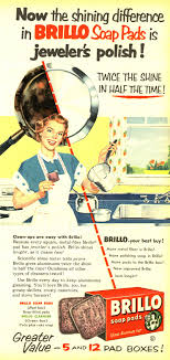 found in mom s basement vintage ads for detergents and other 1950s brillo