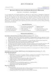 business manager resume example  seangarrette co  business management resume sample   business manager resume