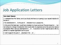 job application letters  amp  resumejob application letters