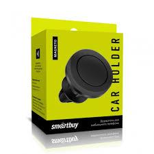 Автодержатель <b>SmartBuy</b>® <b>Magneto</b>-<b>45</b>, 2 пластинки до 150 гр. в ...