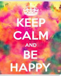 """Тетрадь общая ""<b>Keep Calm</b> and Be Happy"" (48 листов, клетка ..."