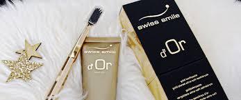 №16 Наш бутик: <b>Золотой гель для</b> зубов Swiss Smile d'Or