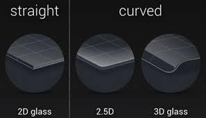 Чем отличается 3D-<b>защитное стекло</b> от 2,5D?