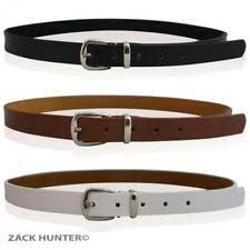 <b>White</b> Skinny Belts for Women for sale | eBay