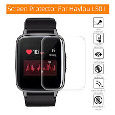 Protective Film for Haylou LS01 Smart Watch <b>Screen Protector</b> Soft ...