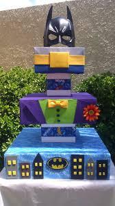 best images about ehren s lego batman party lego custom batman cupcake stand batman joker gotham city 130 00 via