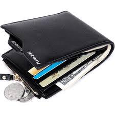 <b>Men</b> RFID Blocking <b>Short Leather Wallet</b> Card Holder <b>Purse</b> ...