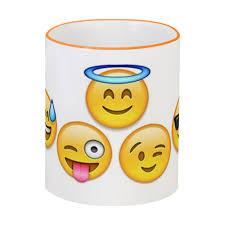 <b>Кружка</b> с цветной ручкой и ободком <b>emoji</b> #1857903 в Москве ...