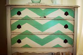 painting furniture ideas chevron painted furniture