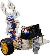 Aibecy <b>Micro: Bit</b> Mechanical Arm Smart <b>Robot</b> Car DIY Kit Support ...