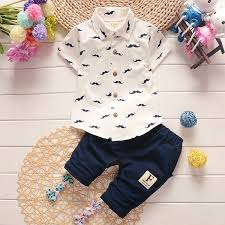 2016 Summer <b>Baby Boys Clothes</b> Suits Gentleman Style Kids ...