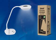 <b>UNIEL TLD</b>-<b>518</b> White/4W/<b>Лампа настольная</b>/LED/400Lm/4500K ...