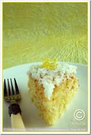 Lemon Coconut Apricot Cake