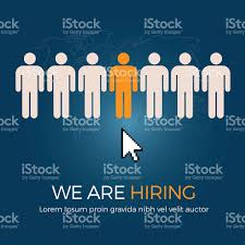 hiring the best person for the job vacancy stock vector art hiring the best person for the job vacancy royalty stock vector art