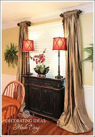 dining room curtain ideas photos