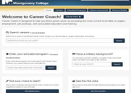 career coach search by job title or educational program
