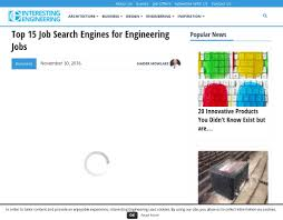 top job search engines for engineering jobs alumni net