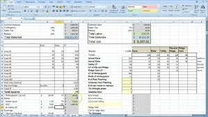 estimate spreadsheet template spreadsheet templates for busines estimate and invoice templates