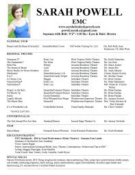 musical theatre resume special skills acting resume template 7 theatrical resume template no experience acting resume template music teacher cv template music production resume sample
