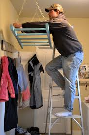 towel rack drying acqua reuse ladder into a laundry rack idea