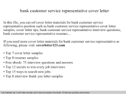 bank customer service representative cover letterbank customer service representative cover letter in this file  you can ref cover letter materials