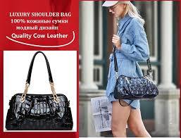 ZOOLER Brand Luxury <b>Genuine Leather</b> Women Bag Large Soft ...