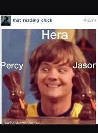 Percy Jackson Memes - HERA - Wattpad via Relatably.com