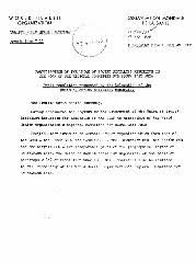 Participation of the <b>Union of Soviet Socialist</b> Republics in the work of ...