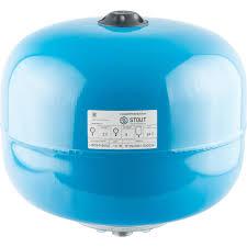 <b>STOUT Гидроаккумулятор</b> 24 л. <b>вертикальный</b> (цвет синий) <b>STW</b> ...