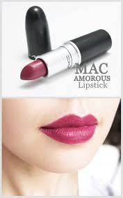 <b>MAC</b> Lipstick <b>Amorous</b> - The color is perfect for my skin tone, makes ...