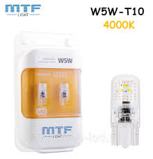 Светодиодные <b>лампы</b> W5W <b>MTF</b>-<b>Light VEGA</b> T10 4000K - 75Lm ...