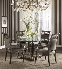 Dining Room Sets Glass Table Buy The Belvedere Dining Room Set With Ground Glass Table By Fine
